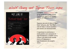 presentazione japan tour 5